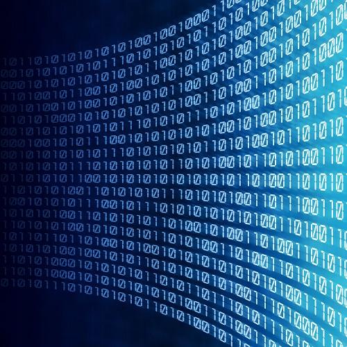Viele online verschlüsselte Daten