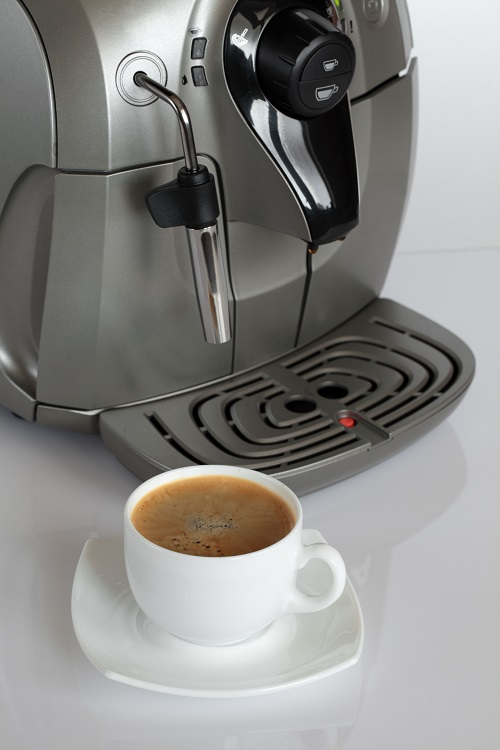 Kaffee aus der Maschine