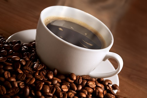 Wärmender Kaffee