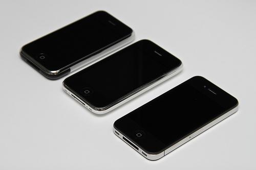 iPhone 5 Vorgänger