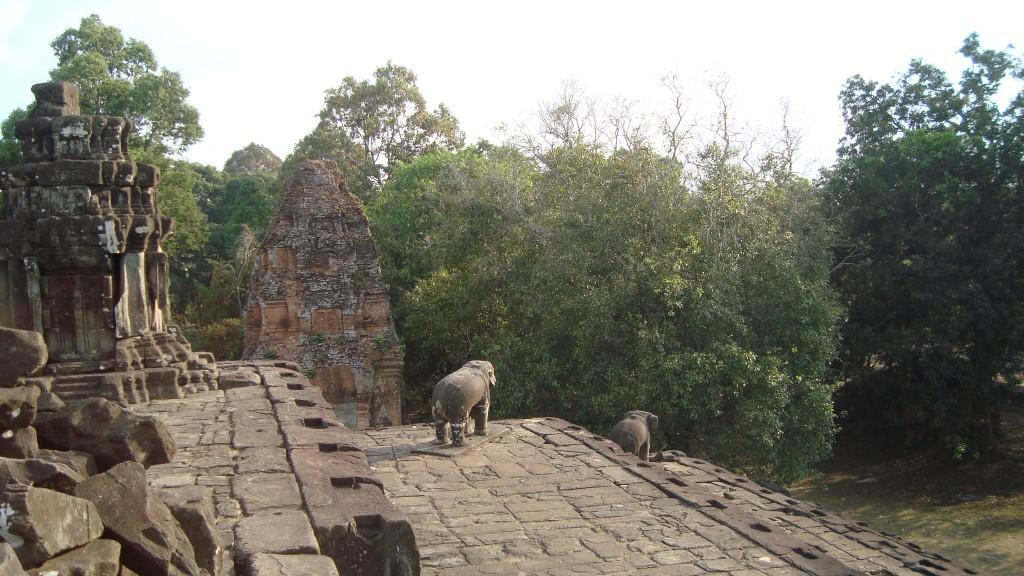 Tempelanlage Bakong in Kambodscha
