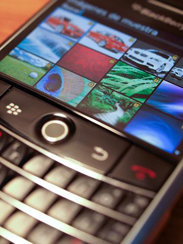 Blackberry mit Qwertz Tastatur