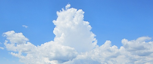 Clouds bei Smartphone-Handys