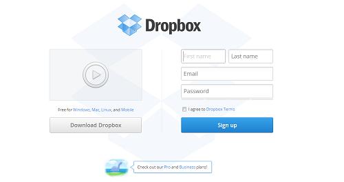 Mit Dropbox Daten online speichern