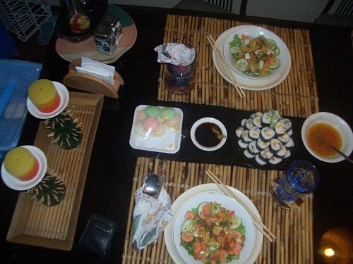 Sushi kommt traditionelle aus Japan