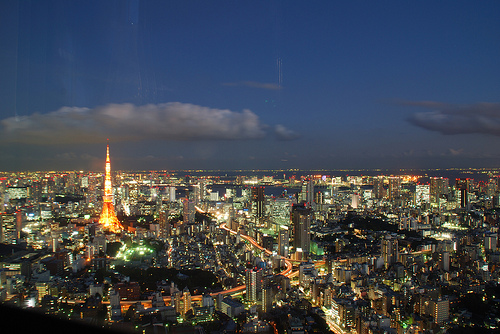 Turm in Tokio