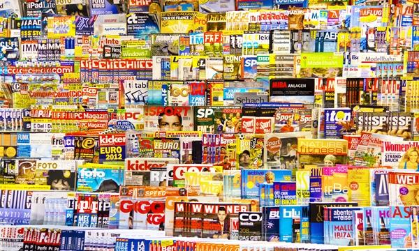 Printmedien wie der Spiegel sind durch Online-Angebote bedroht