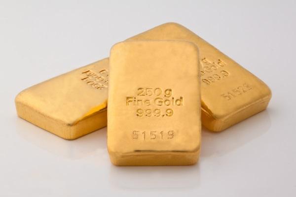 Physisches Edelmetall - Goldbaren à 250g - sichere Geldanlage