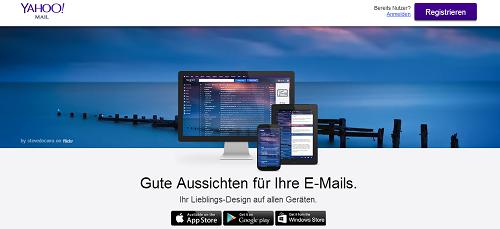 Yahoo Mail Anbieter