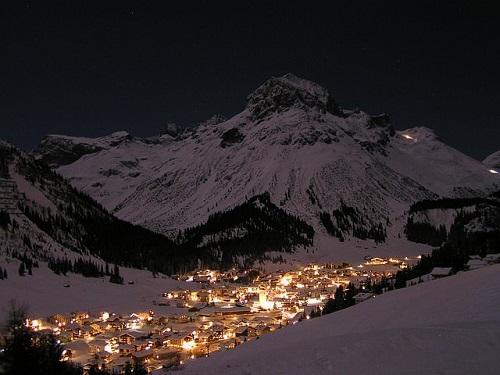 Lech am Arlberg: Mit der Gondelbahn von Warth-Schröcken nach Lech-Zürs