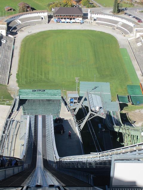 Olympia-Skispungschanze - Olympiastadion - Gudiberg