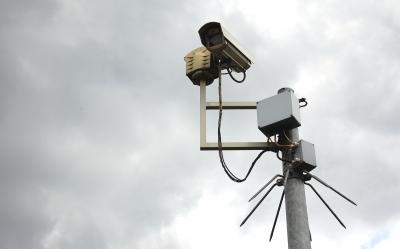 Die Überwachungskamera