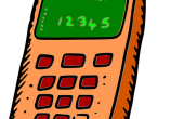 Handy mit Flatrate - stylisiert