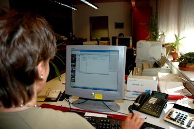 Bild 1: Wichtige Einrichtung für den Computerarbeiitsplatz zu Hause