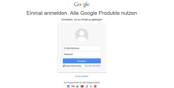 Googlemail: anmelden und free emails verschicken