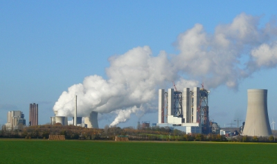 "Bild 1: ""Kohlekraftwerk in Betrieb"""