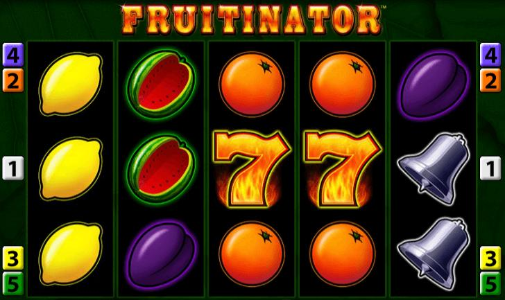 Fruitinator online spielen: Das Automatenspiel macht auch im Browser viel Spaß.
