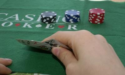 Bild 1: Viele Pokerfreunde auch im Online Casino