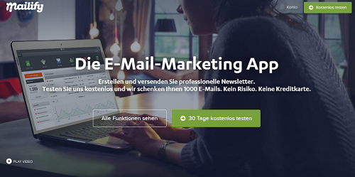 Mailify Newsletter Marketing App